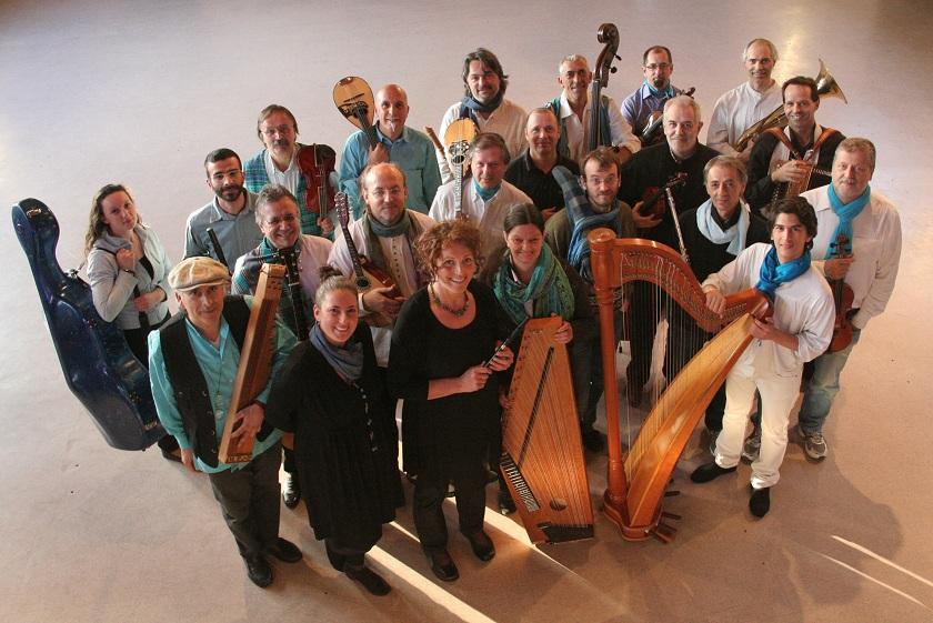 Calicanto e l'Orchestra Popolare delle Dolomiti