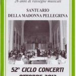 Concerti Madonna Pellegrina