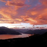 Tramonto sul Lago Maggiore