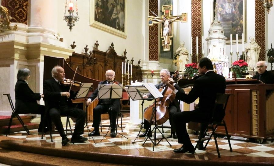 Un insolito trio in concerto al Santuario della Madonna Pellegrina