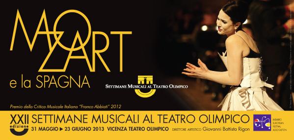 """""""Mozart e la Spagna"""": ritornano le Settimane Musicali al Teatro Olimpico Vicenza"""