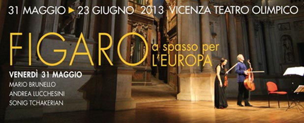 Tchakerian, Brunello e Lucchesini aprono le Settimane Musicali al Teatro Olimpico