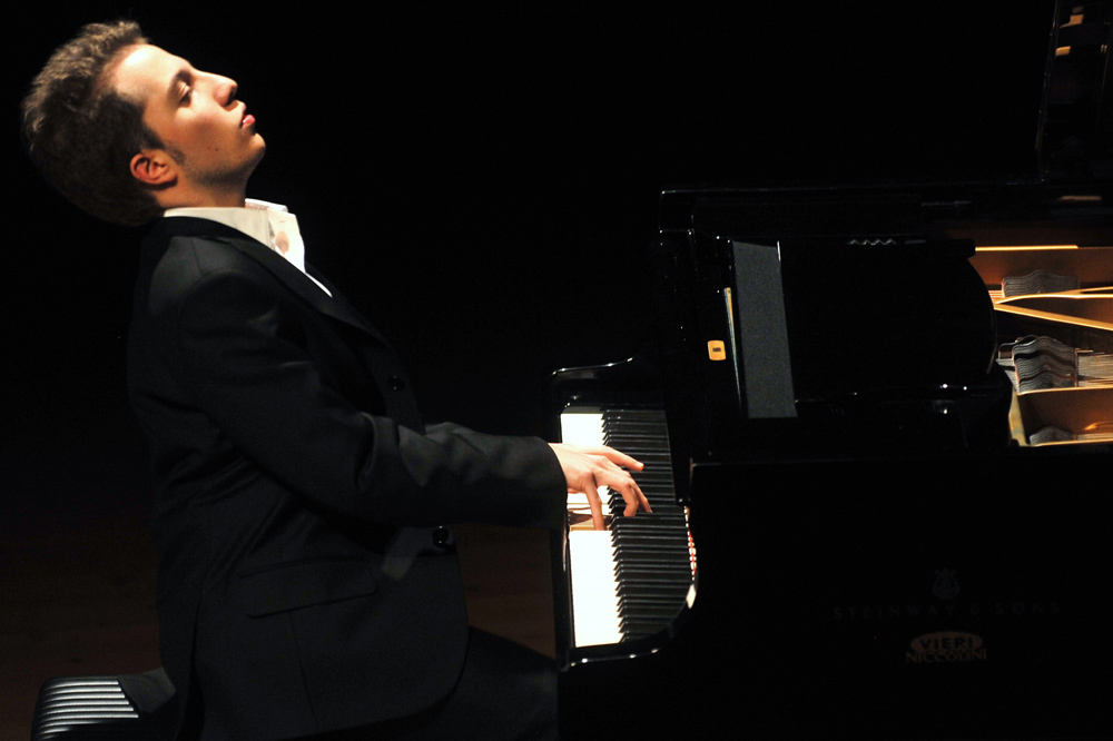 Alessandro Tosi in concerto alle Settimane Musicali al Teatro Olimpico