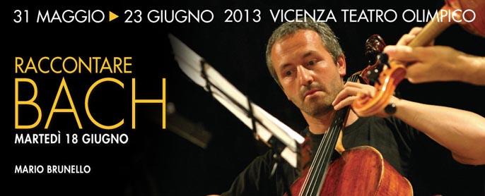 """Mario Brunello """"racconta"""" le Suites di Bach alle Settimane Musicali di Vicenza"""