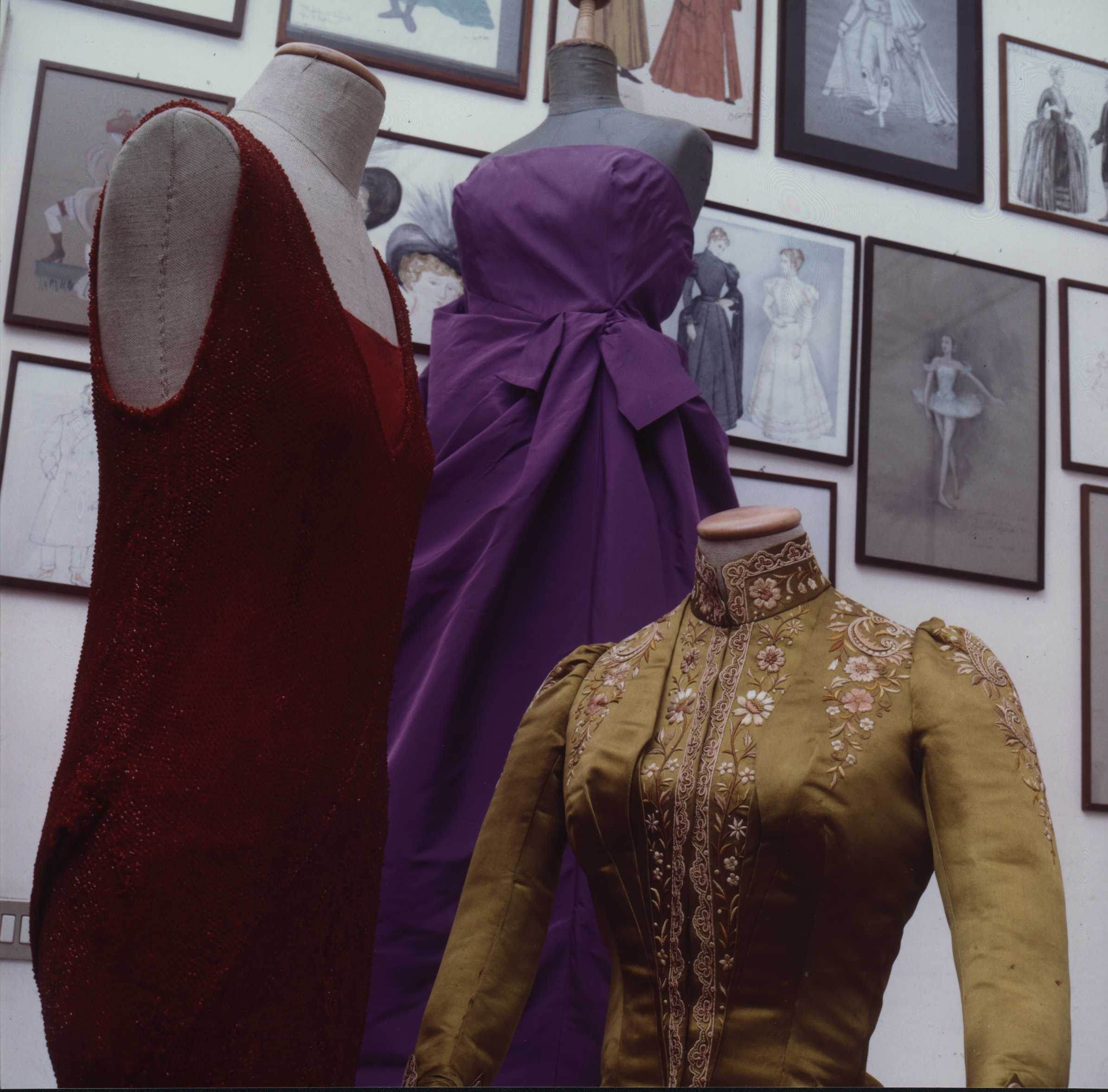Costumi da film per Lucrezia Borgia al Teatro Verdi di Padova
