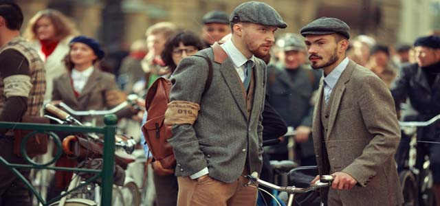 """""""Tweed Ride"""", una pedalata retrò a Padova per condividere la naturale eleganza della bicicletta"""