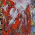 CARLA RIGATO  espone quattro sue opere eseguite nel 2012: Cielo sopra le montagne, (acrilico su tela, 115x95); Creazione,  (acrilico su tela, 115x95); Crisi irrisolta, (acrilico su tela, 100x80); Tentativo di soluzione, (acrilico su tela, 100x85)