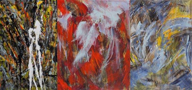 Quattro opere dell'artista padovana Carla Rigato all'Istituto Italiano di Cultura di Vienna