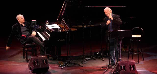 Gino Paoli e Danilo Rea al Teatro Verdi di Padova per SacreArmonie