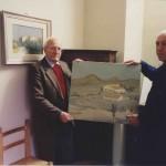 Con Dino Lanaro (marzo 1993)