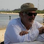 carlo mazzacurati sul set del film in-Mozambico