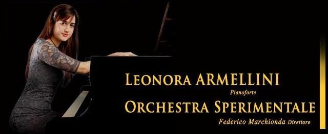 Venerdì 8 maggio alle 21 all'Auditorium Pollini, sarà la pianista Leonora Armellini a chiudere la stagione di concerti dell'Orchestra Sperimentale