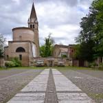 Abbazia della Vangadizza da piazza Vangadiizza ph Maurizio Braiato