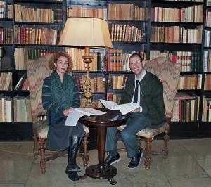 Susanna Armani e Aldo Orvieto