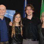 Renata Benvegnù e Lorenzo Cossi assieme ai coniugi Jim e Sharon Westby