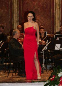 1. Vincitrice primo premio, Adriana Ferfecka