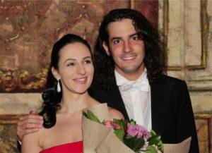 5. Adriana Ferfecka (1 premio), Lorenzo Passerini (direttore d'orchestra)