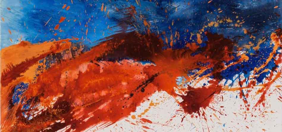 """""""Poesia e sinfonie dell'informale"""" Carla Rigato espone alla Galleria La Teca"""