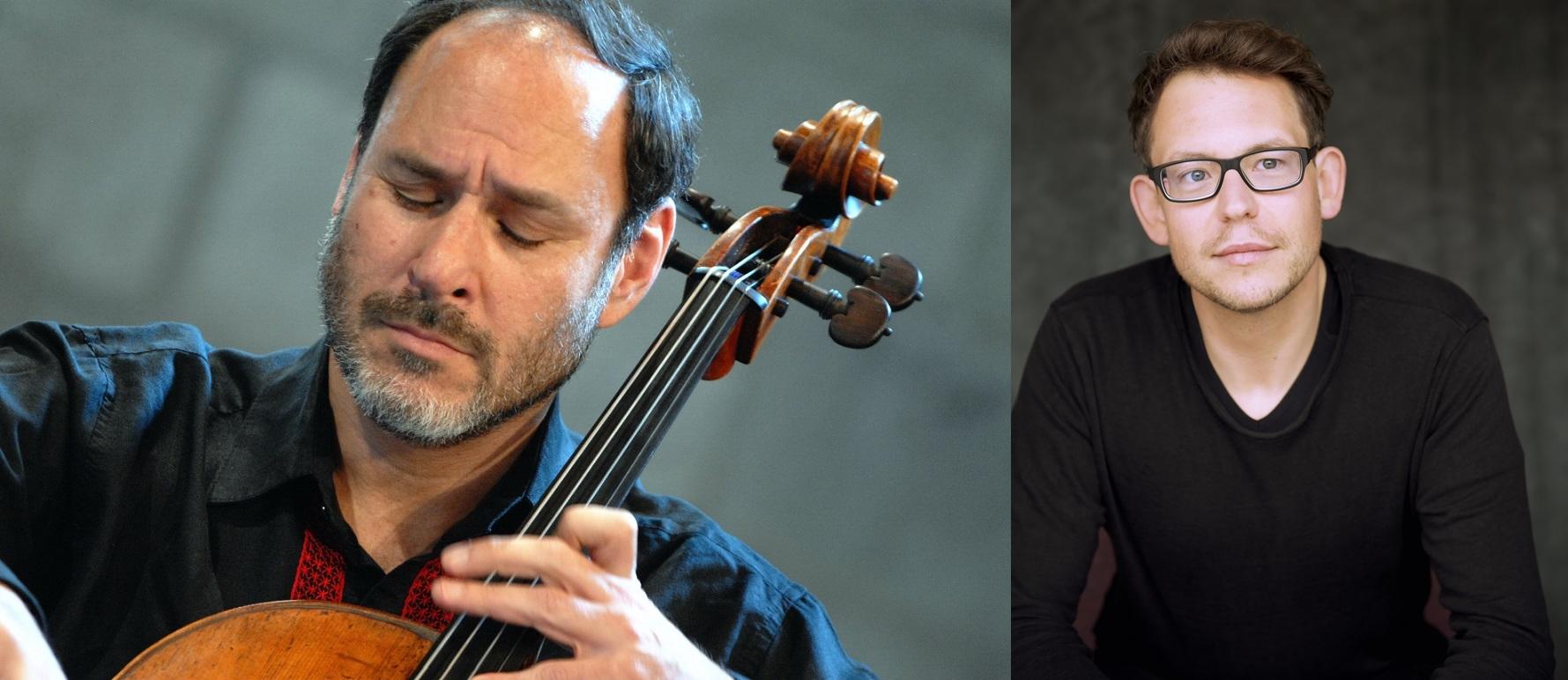 Per la Stagione dell'OPV, Daniel Huppert dirige il violoncellista Gary Hoffman in pagine di Schumann, Čajkovskij, Ligeti e Mozart
