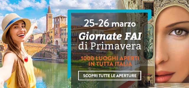 Giornate FAI di Primavera in Veneto, le aperture della 25a edizione