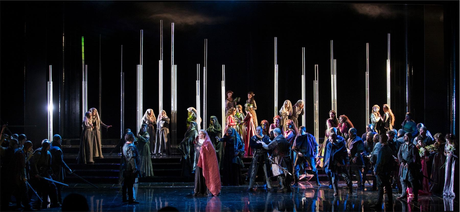 """La Stagione Lirica di Padova 2017 ritorna in ottobre al Teatro Verdi di Padova con un Trovatore """"pittorico"""" di Giuseppe Verdi in un nuovo allestimento dell'Opera di Maribor."""