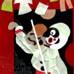 Pulcinella illustrazione di Serena Abagnato