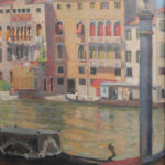 Grand Canal 1924 cm 59 x 50,5 olio su tela oil on canvas