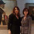 Anila Bitri Lani, Ambasciatore della Repubblica d'Albania in Italia ha visitato ieri, martedì 20 marzo, la mostra «Omaggio a Vangjush Mio», prima retrospettiva italiana dedicata al poeta del paesaggio albanese.