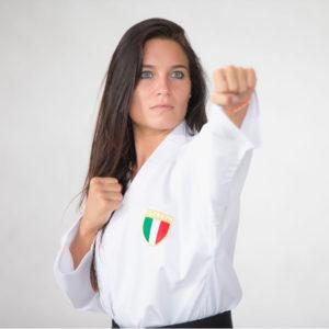 Sara Cardin campionessa mondiale di karate