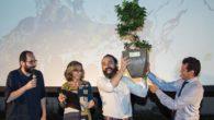 """Giovedì 21 giugno Euganea Film Festival ha consegnato il """"Premio Crédit Agricole Friuladria – Parco Colli Euganei"""" a Thomas Torelli regista di """"Food ReLOVution"""""""