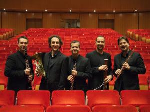 Il quintetto di fiati dell'Orchestra dell'Accademia Nazionale di Santa Cecilia e della Royal Concertgebouw Orkest a Musikè