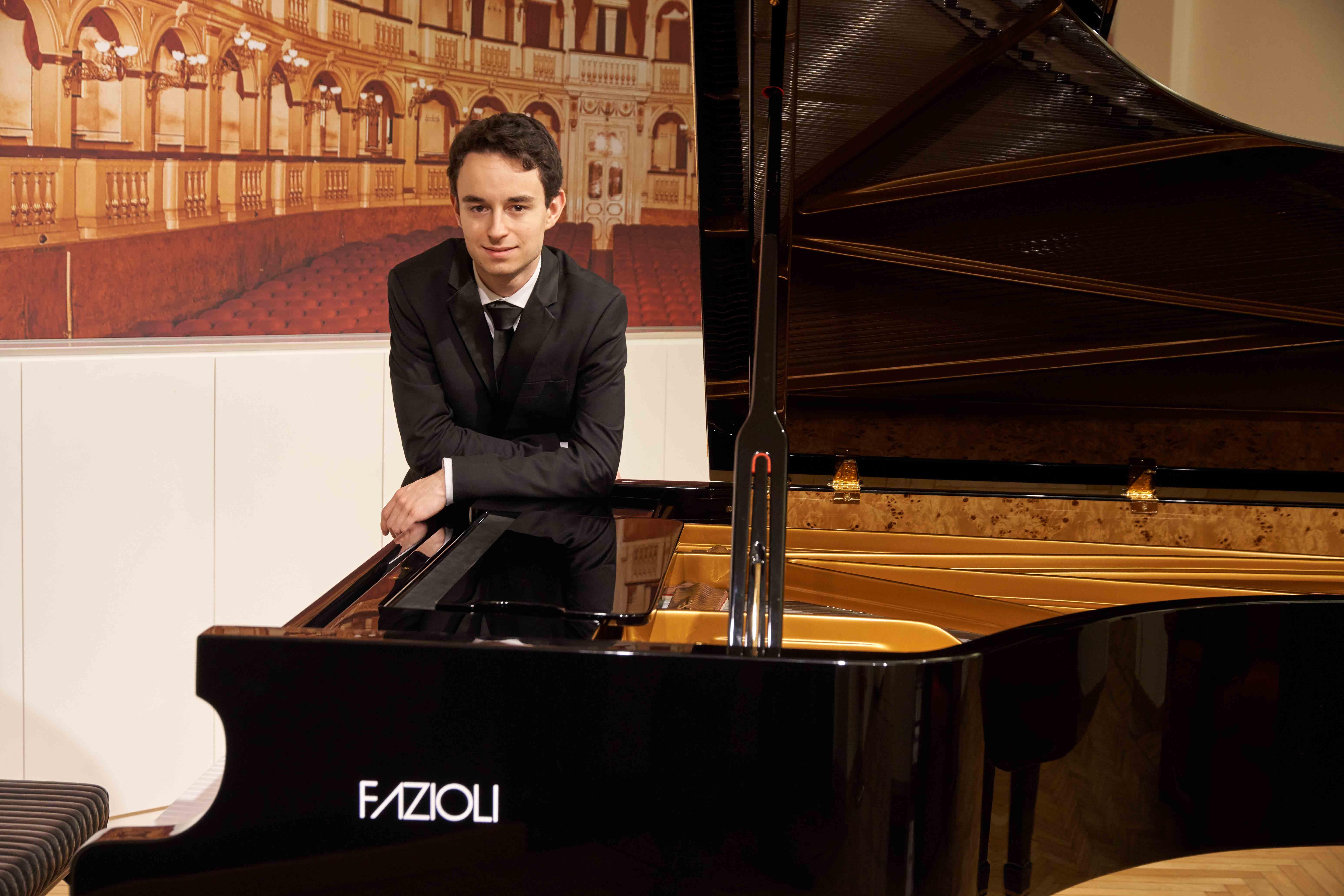 Axel Trolese ospite della Società del Quartetto a casa Verdi