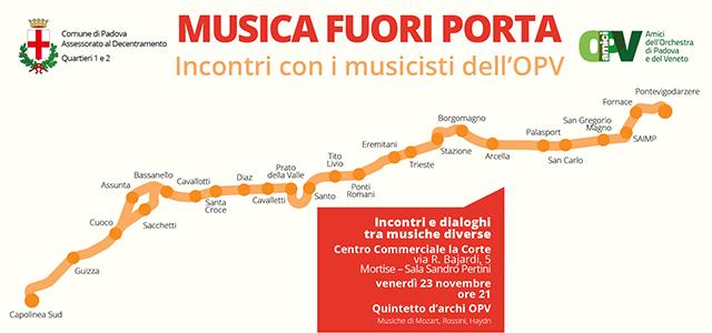 Musica Fuori Porta Incontri con i musicisti dell'OPV