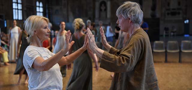 Spaziodanza, in collaborazione con l'Ufficio diocesano per l'Annunzio e la Catechesi e il Museo Diocesano di Padova, propone due laboratori di community dance