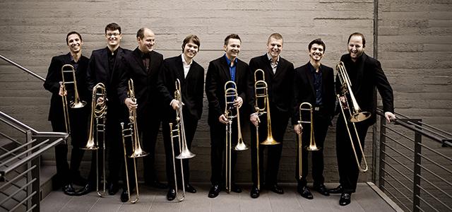 L'ensemble Trombone Unit Hannover alla Rotonda di Rovigo