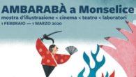Il festival culturale Ambarabà sarà a Villa Pisani dal 1 febbraio al 1 marzo 2020  con laboratori, spettacoli di teatro, illustrazioni, letture animate, degustazioni e una mostra d'illustrazione Mukashi Mukashi e storie dall'arcipelago. in collaborazione con la Fondazione Štěpán Zavrel e il Comune di Sàrmede.
