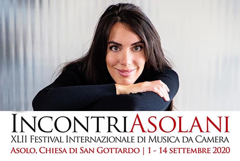 La pianista Gloiria Campaner ad Incontri Asolani