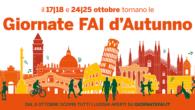 Giornate FAI d'Autunno. Per la prima volta due fine settimana: sabato 17 e domenica 18, sabato 24 e domenica 25 ottobre 2020. Le aperture in Veneto