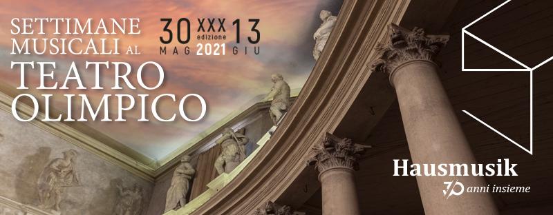 Settimane Musicali al Teatro Olimpico 2021