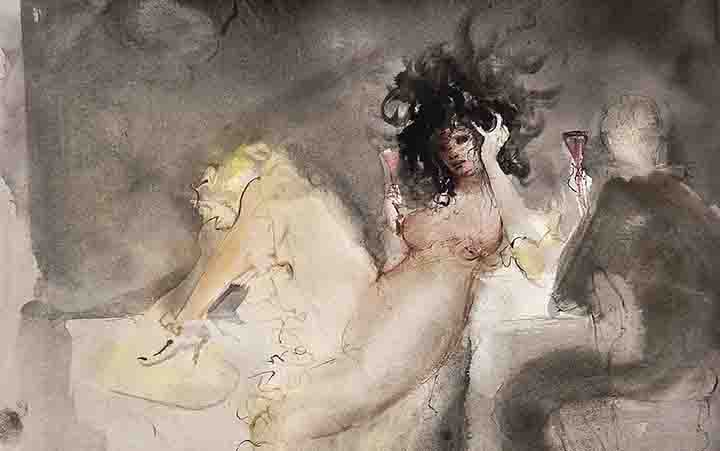 """Leonor Fini. Memorie triestine"" in mostra a Parigi"