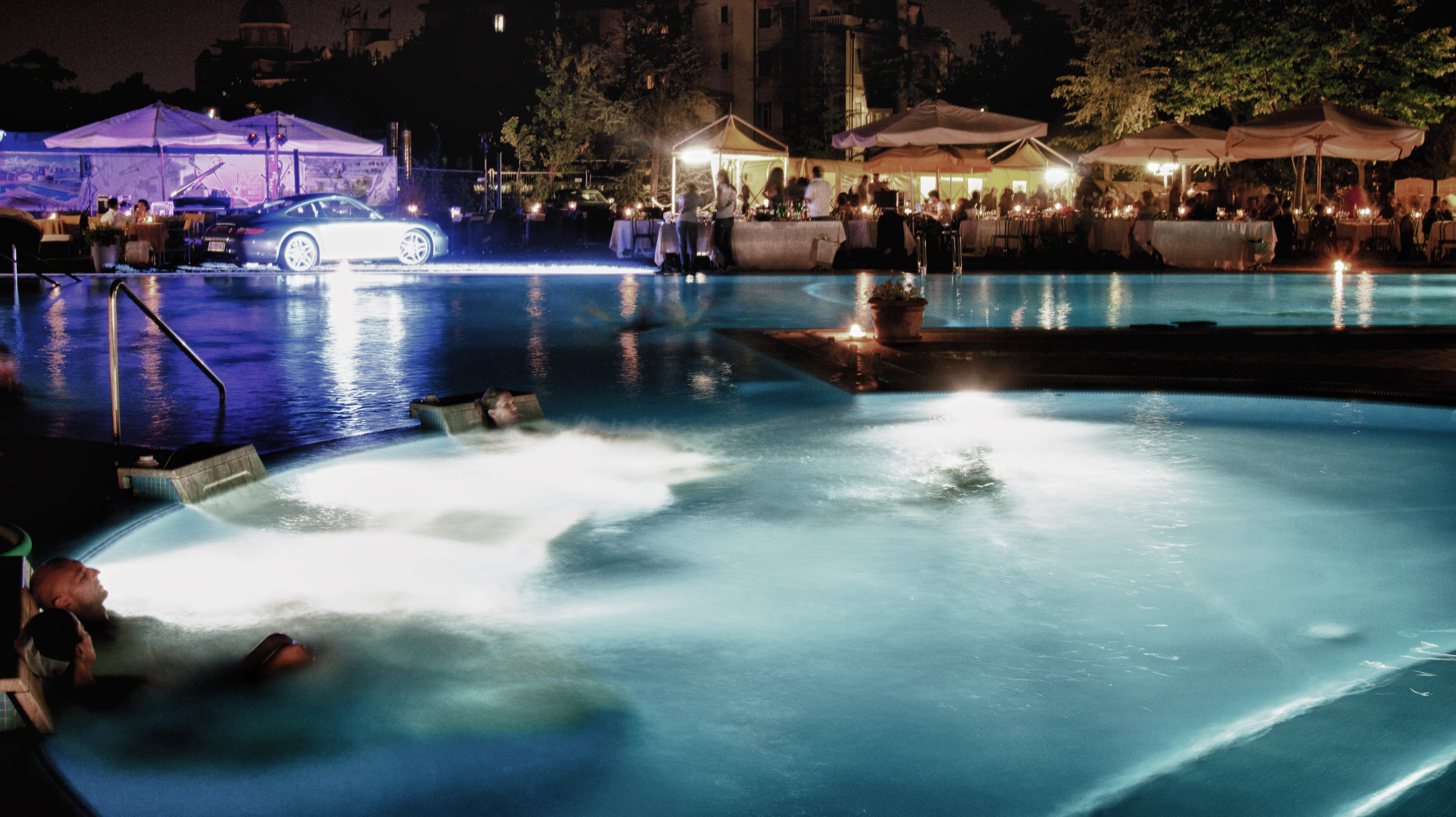 Jazz by the Pool 2012 alle Terme di Montegrotto