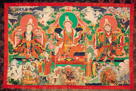 La mostra sul Tibet a Sereno Variabile