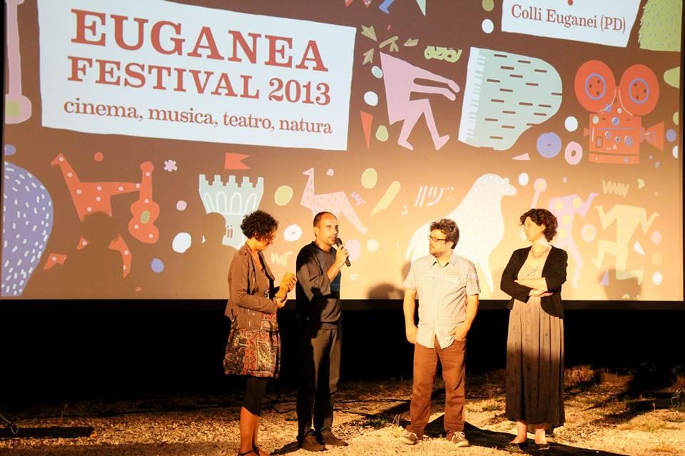 Ritirano il premio il regista Stefano Martone e la produttrice Vitaliana Curiglianorne
