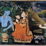 Rama, Sita e Lakshmana in esilio