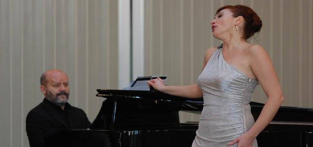 Oksana Lazareva in concerto alle Settimane Musicali di Vicenza