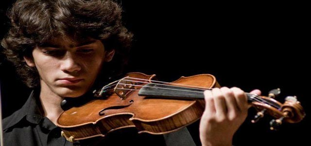 Il violino di Christian Sebastianutto alle Settimane Musicali al Teatro Olimpico