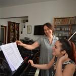 Sonig e Leonora in prova_2