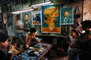 """China's Van Goghs"" di Yu Haibo e Yu Tianqi Kiki"
