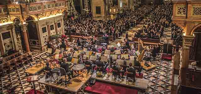 """Musica """"spazializzata"""" per il Concerto Natale di OPV al Santo"""