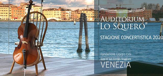 "Auditorium ""Lo Squero"". Stagione Concertistica 2020"